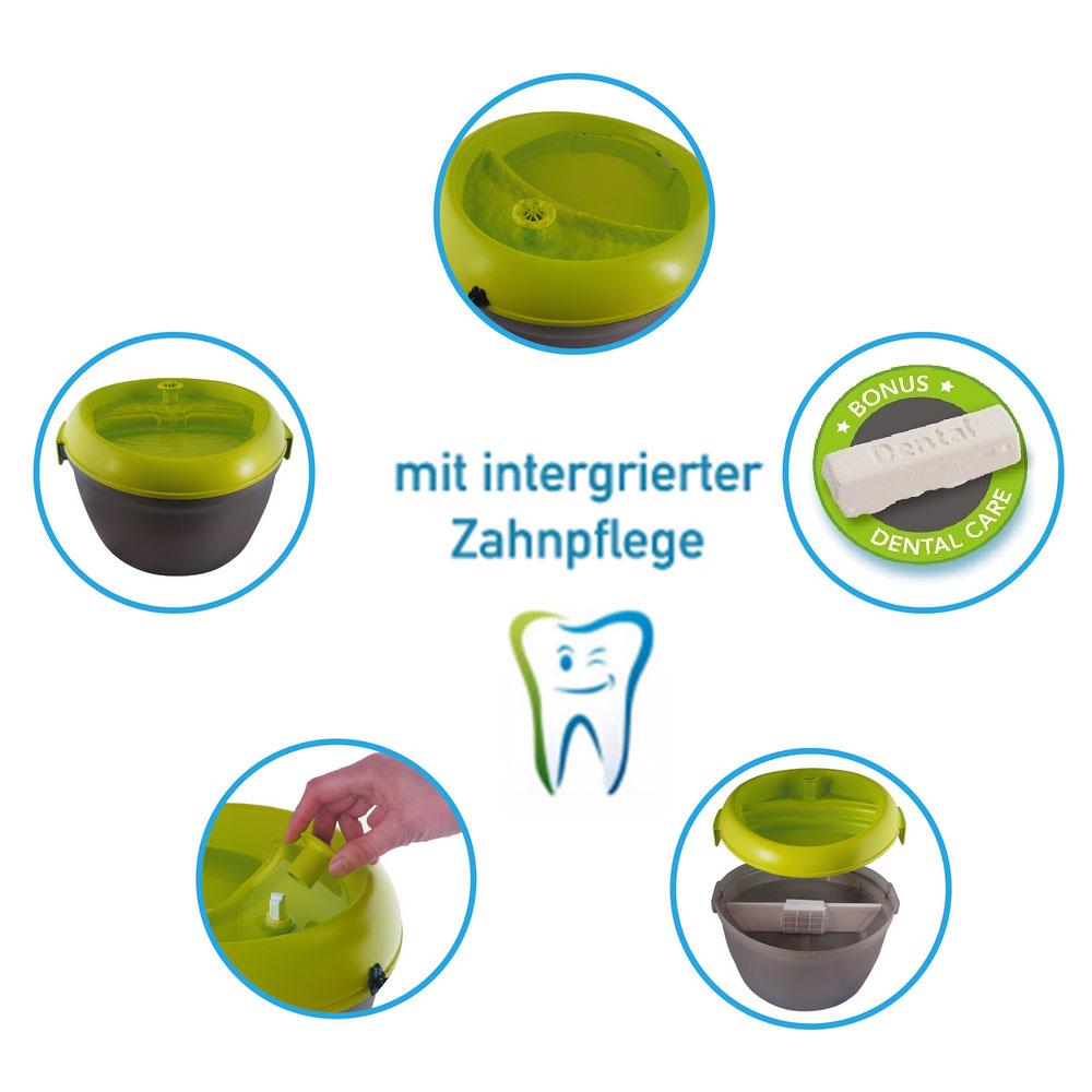 Dog H2O Hundetrinkbrunnen mit Zahnpflege, Bild 3