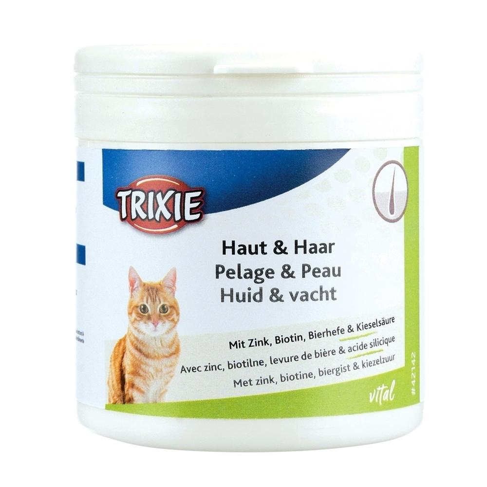 Trixie Ergänzungsfuttermittel Haut & Haar für Katzen