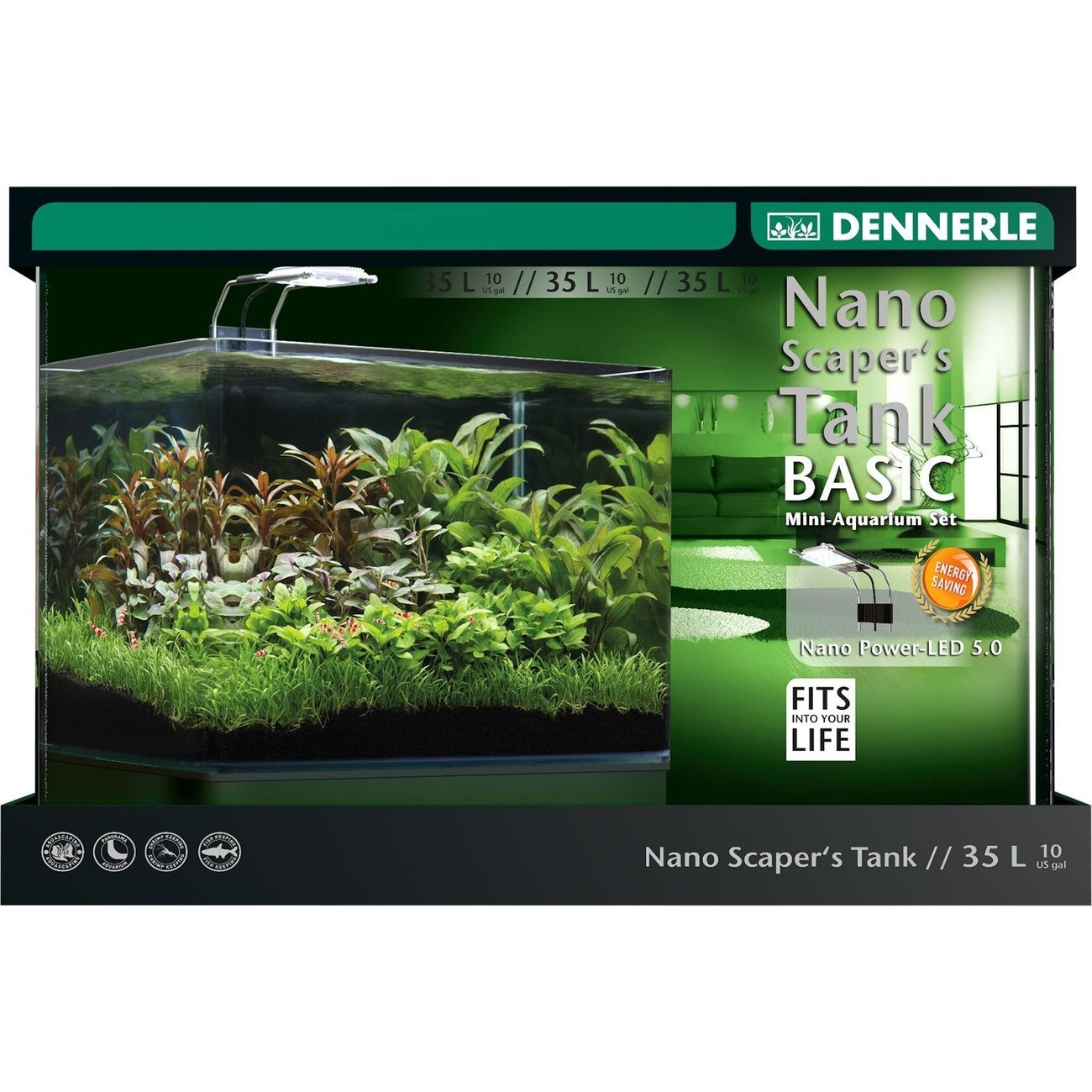 Dennerle Nano Scapers Tank Basic PowerLED 5.0 Preview Image