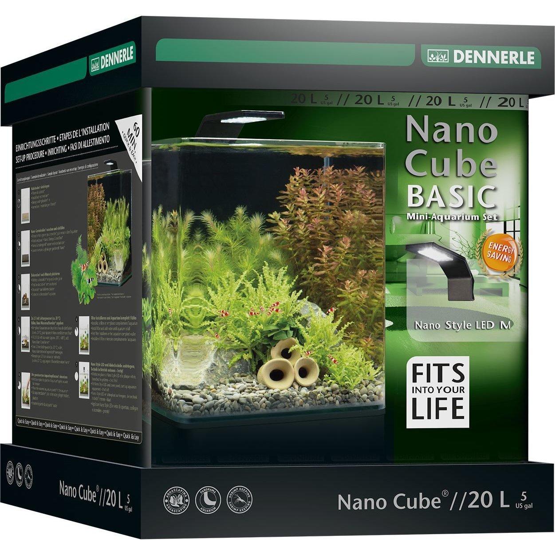 Dennerle NanoCube Basic Style LED Aquarium, Bild 3