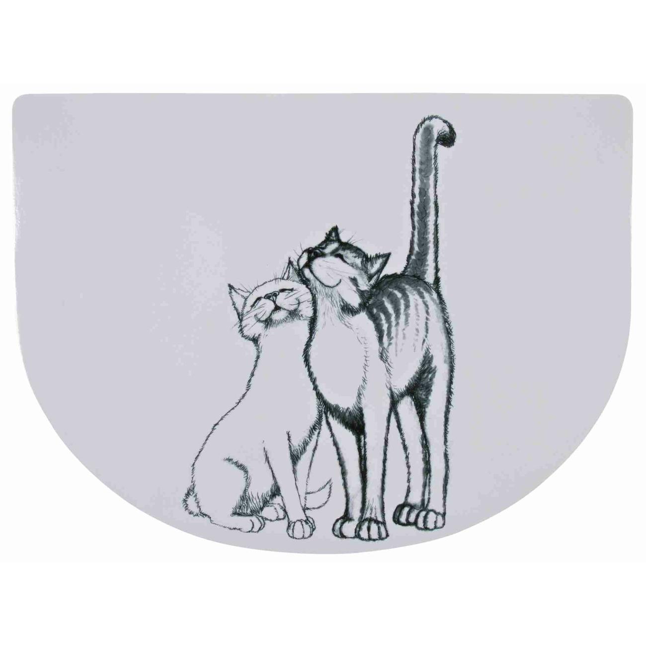 TRIXIE Napfunterlage Katze Schmusekatzen 24540