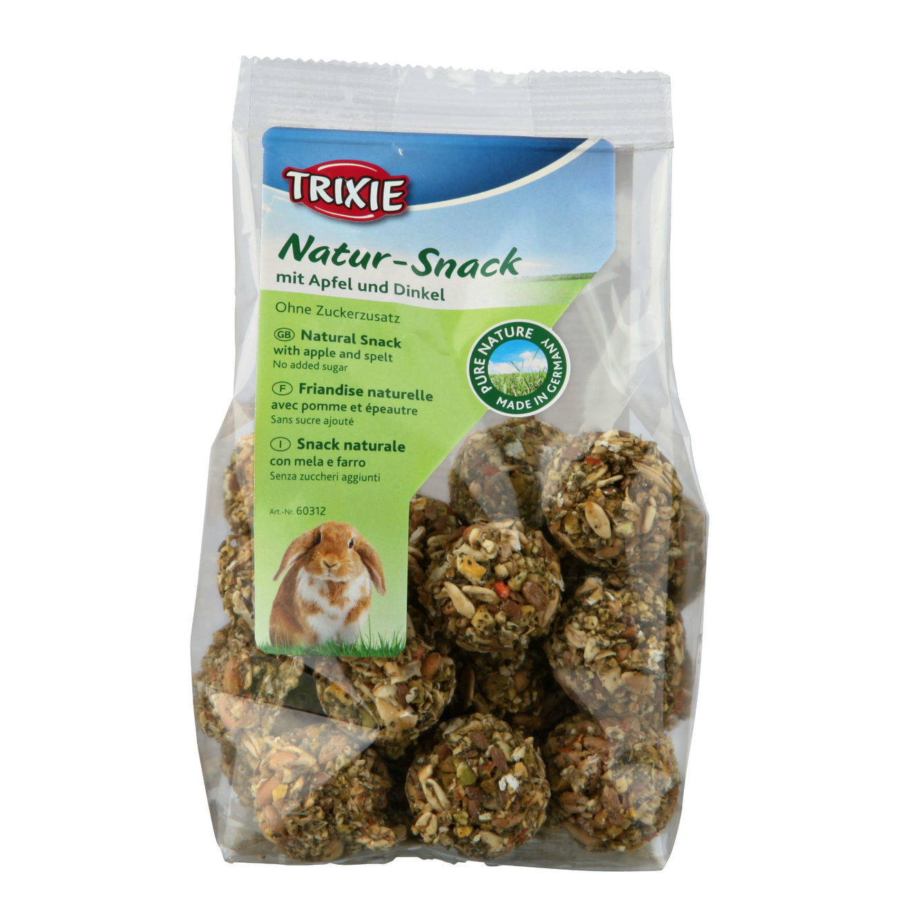 Trixie Pure Nature Natur-Snack Bällchen für Kleintiere 60312, Bild 3