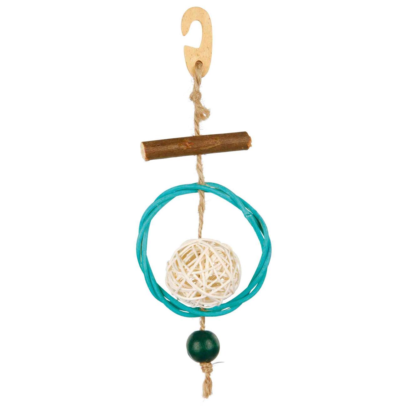 Trixie Naturspielzeug am Sisalseil für Vögel 58953