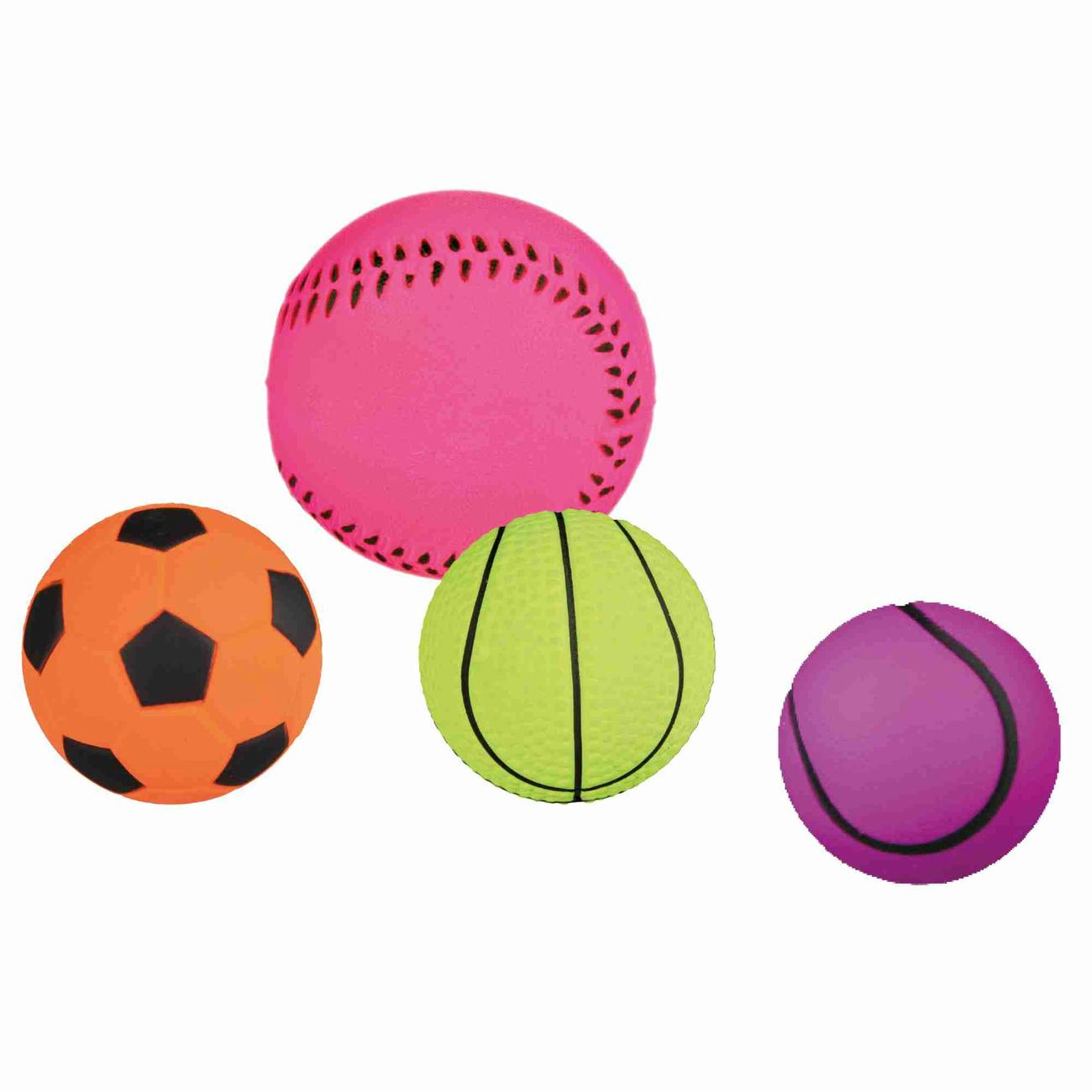 TRIXIE Hundeball Spielball aus Moosgummi 6 cm 3443