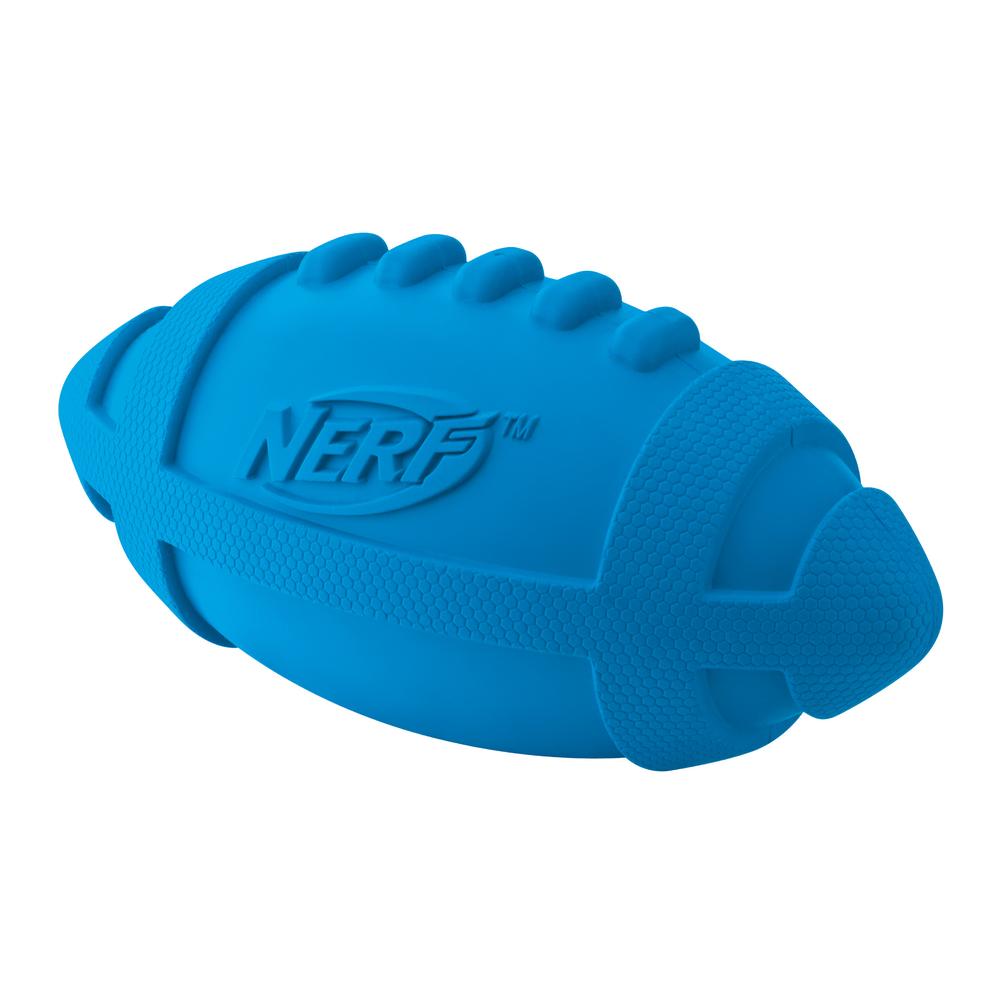 NERF Dog Football mit Quietscher