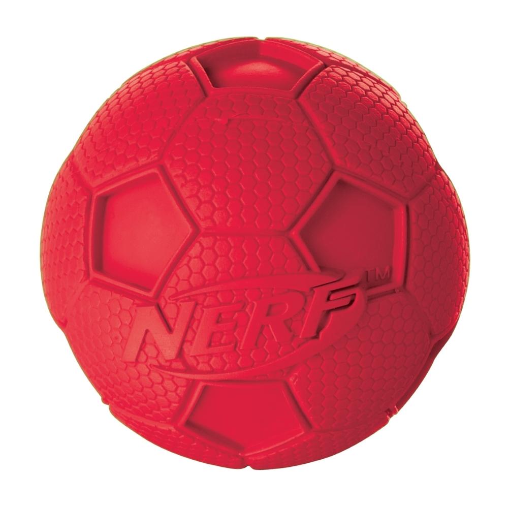 NERF Dog Fußball Gummiball mit Quietscher, Bild 3