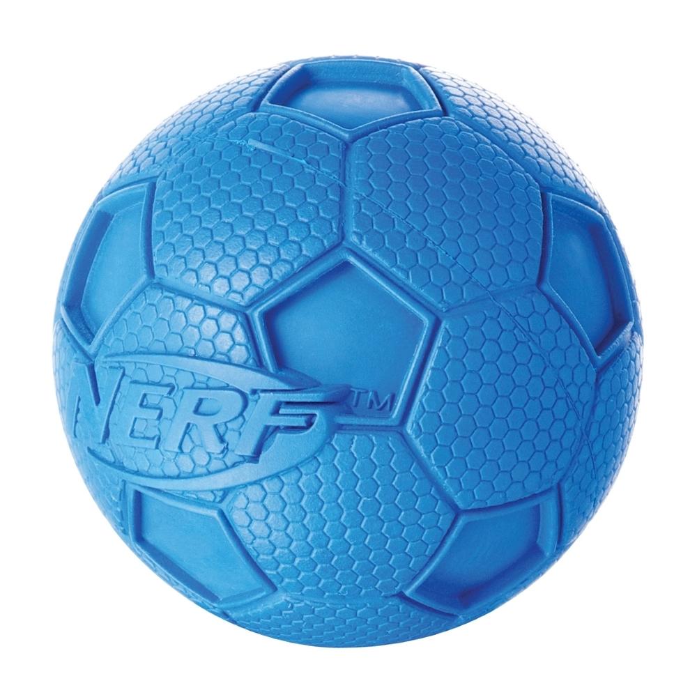 NERF Dog Fußball Gummiball mit Quietscher