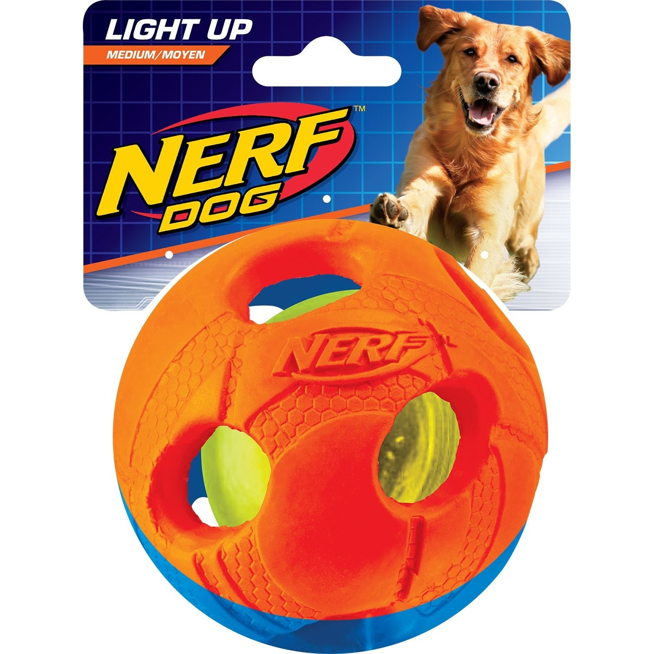 NERF Dog lluma-Action LED für Hunde, Bild 2