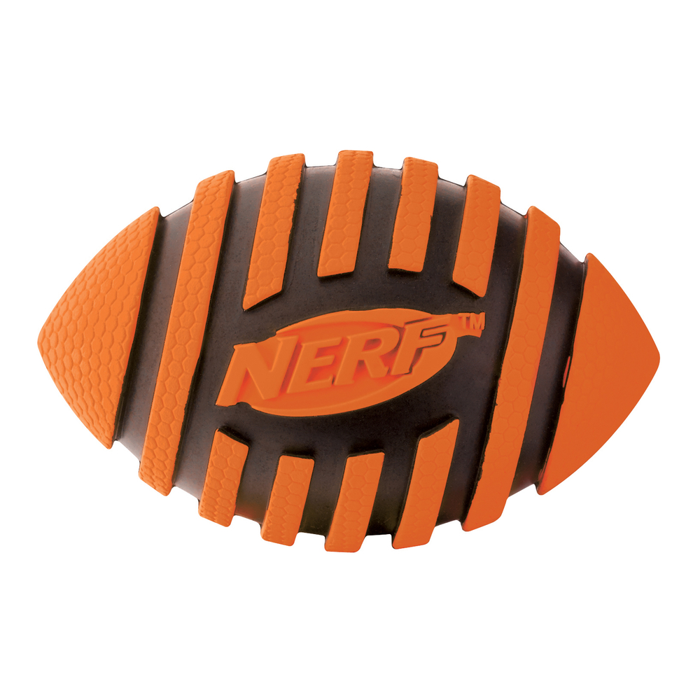 NERF Dog Spiral Football mit Quietscher