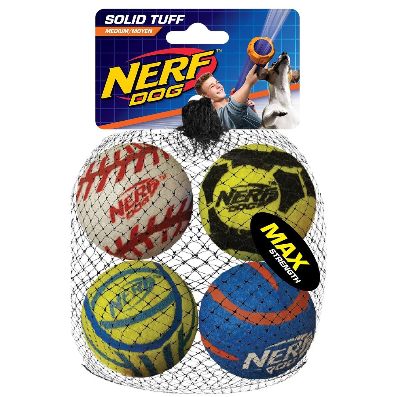 NERF Dog Tennisbälle, megastark Preview Image