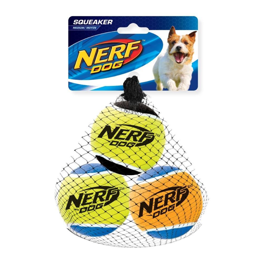 NERF Dog Tennisbälle mit Quietscher, Bild 3