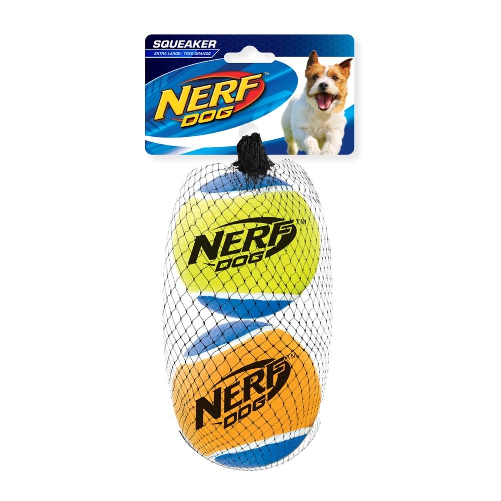 NERF Dog Tennisbälle mit Quietscher, Bild 4