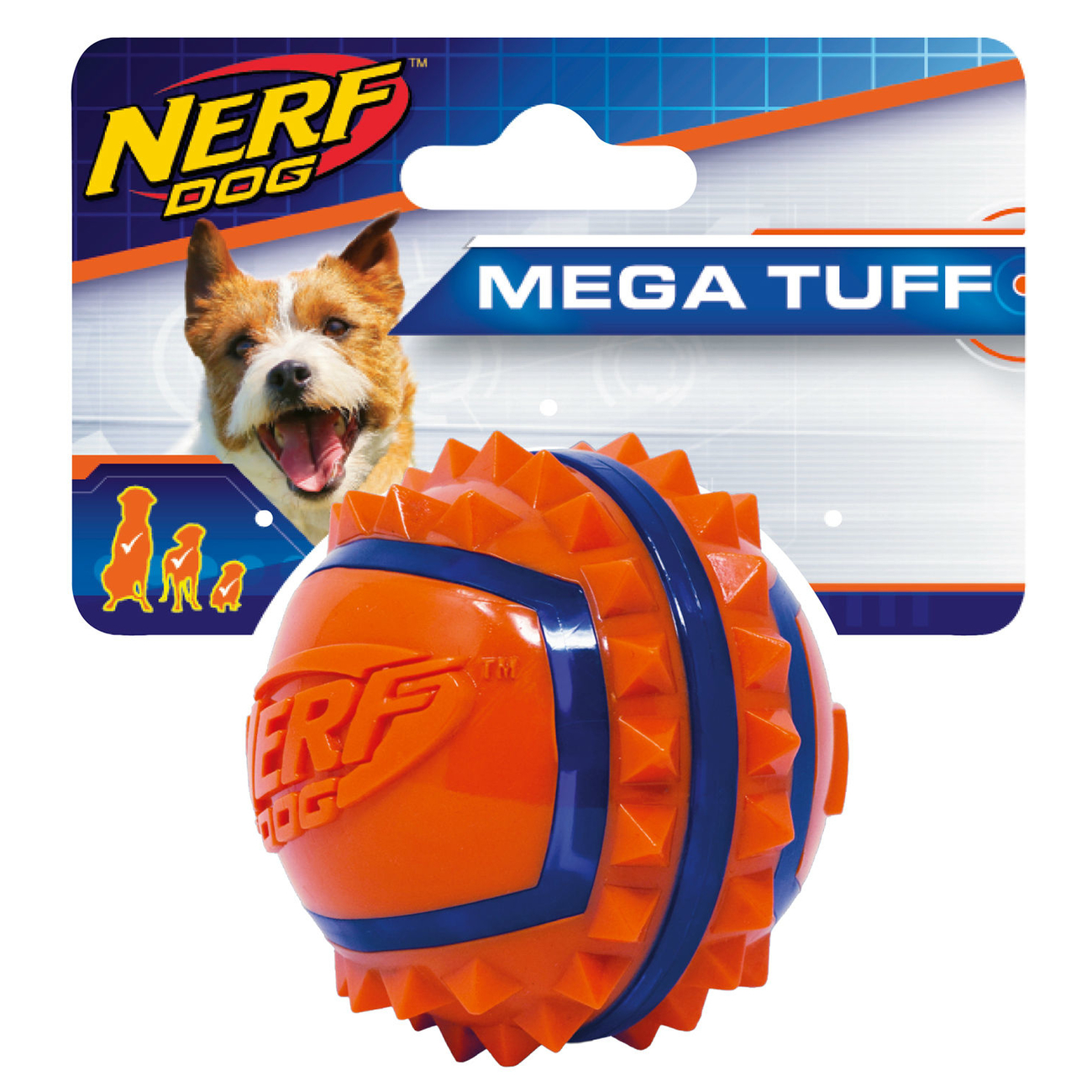 NERF Dog TPR Spike Ball, Bild 3
