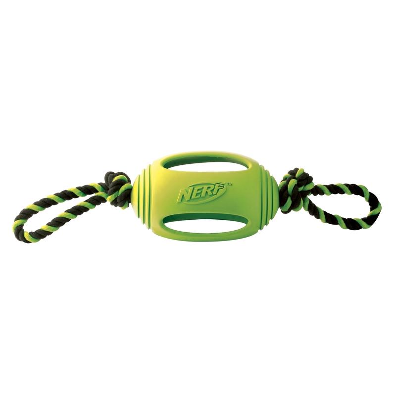 NERF Dog Zerrspielzeug mit Tau, Bild 2