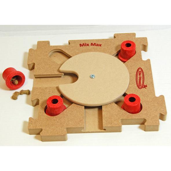 Nina Ottosson Mix Max Puzzle Holz Hundespiel