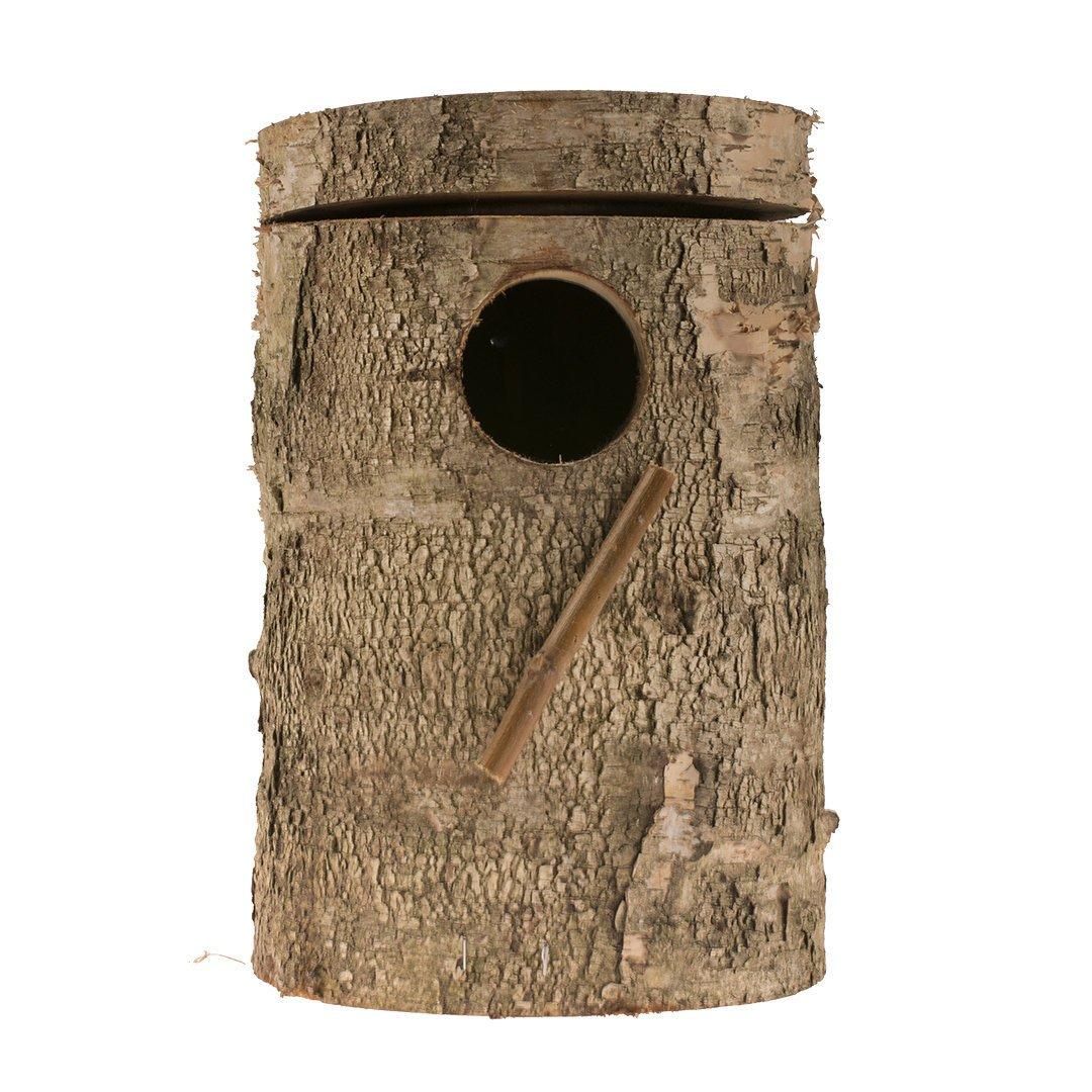 EBI Nistkasten aus Berkenholz, 21 x 14 x 3,8 cm