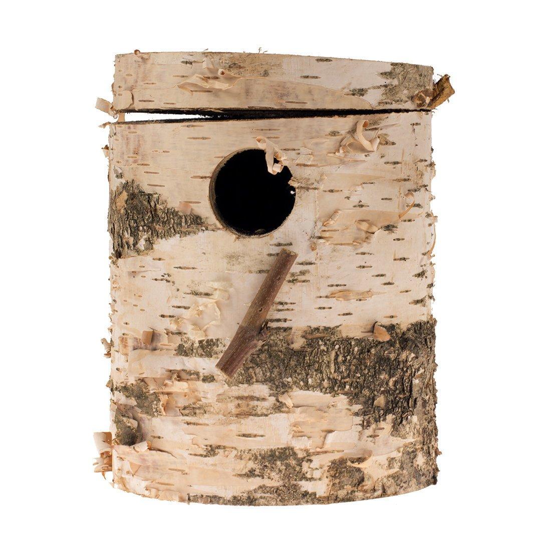 EBI Nistkasten aus Berkenholz, 35 x 14 x 6 cm