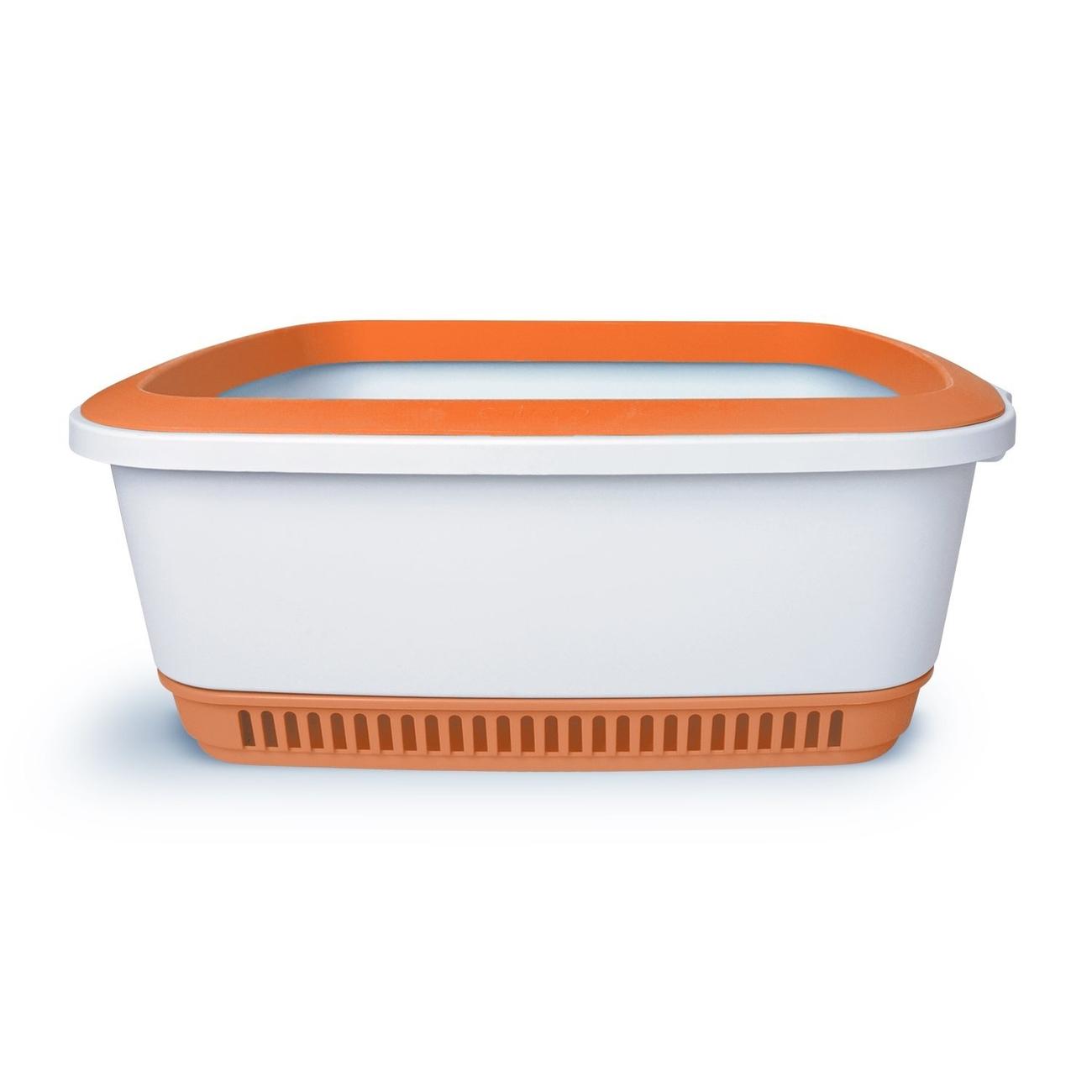 Canada Litter NOBA Premium Katzentoilette, 55,2 x 42,5 x 20,1 cm, Orange