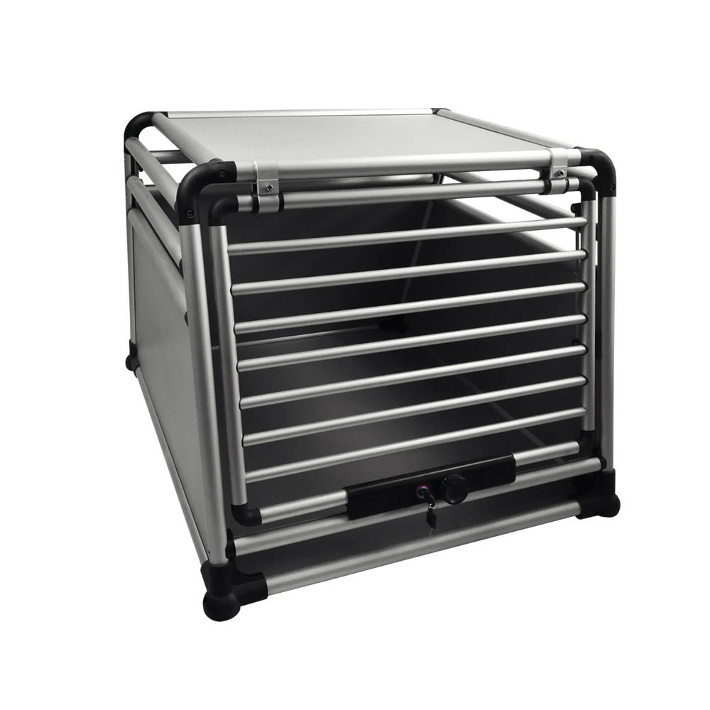 Nobby Aluminium Autotransportbox Round Corner, T x B x H: 90 x 80 x 65 cm
