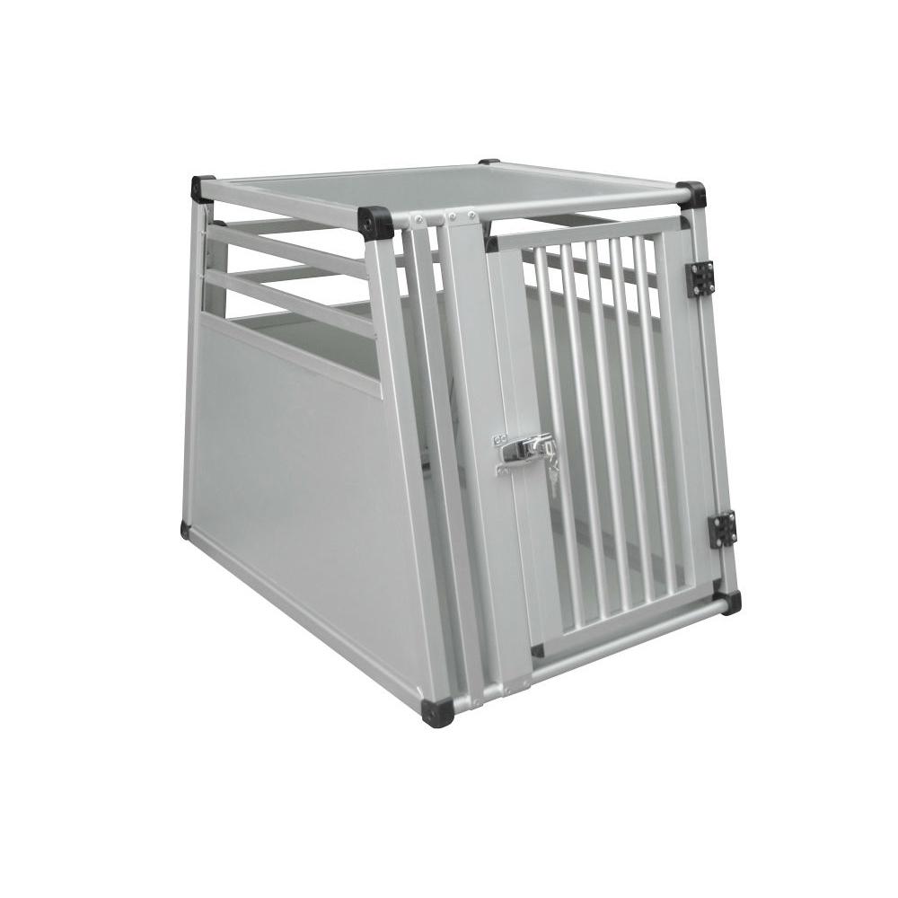 Nobby Aluminium Hundebox Auto, Einzelbox, B X T x H: 55 x 75 x 62 cm