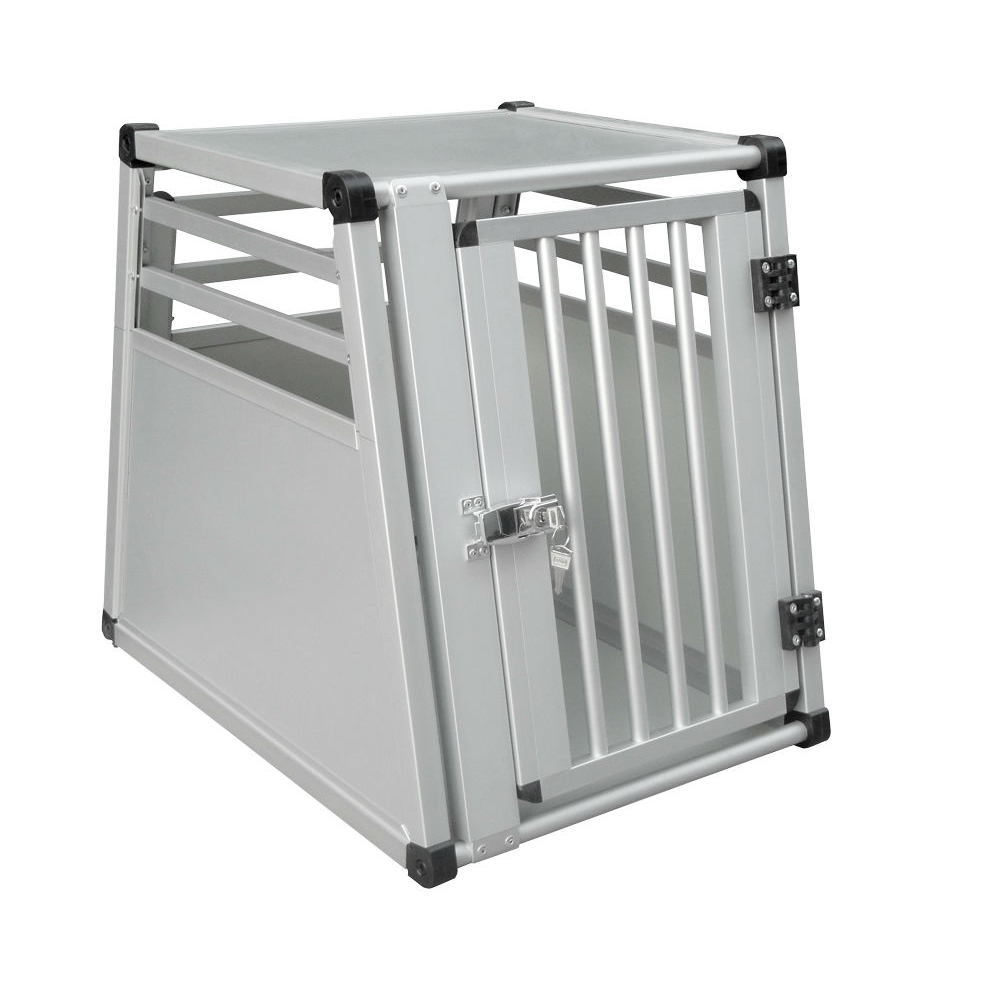 Nobby Aluminium Hundebox Auto, Einzelbox, B x T x H: 46 x 63 x 56 cm