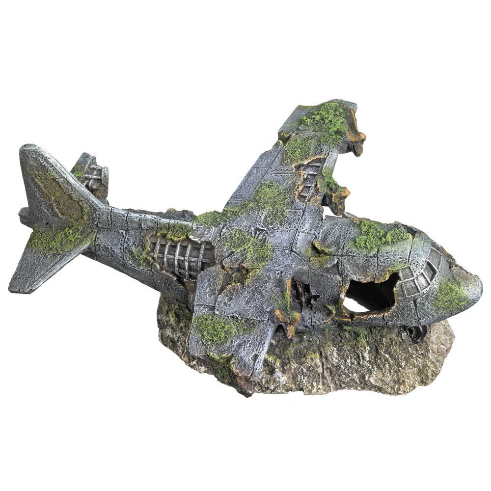 Nobby Aqua Ornaments Flugzeug Wrack Preview Image