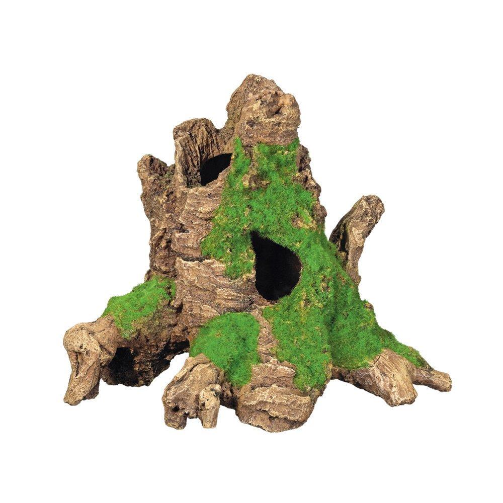 Nobby Baumstamm mit Moos, 25 x 17 x 20,2 cm