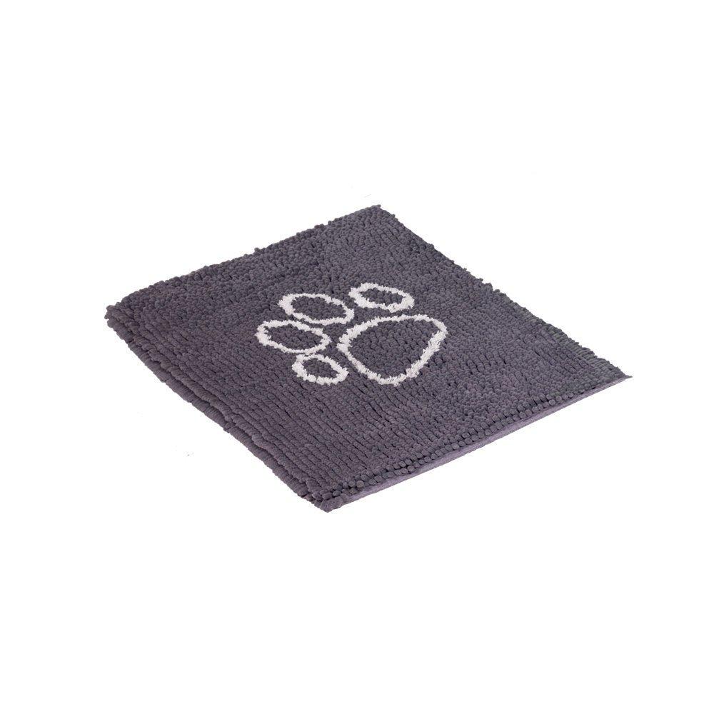 Nobby Haustier Schmutzfangmatte Dry & Clean, M: 91 x 66 cm, hellgrau