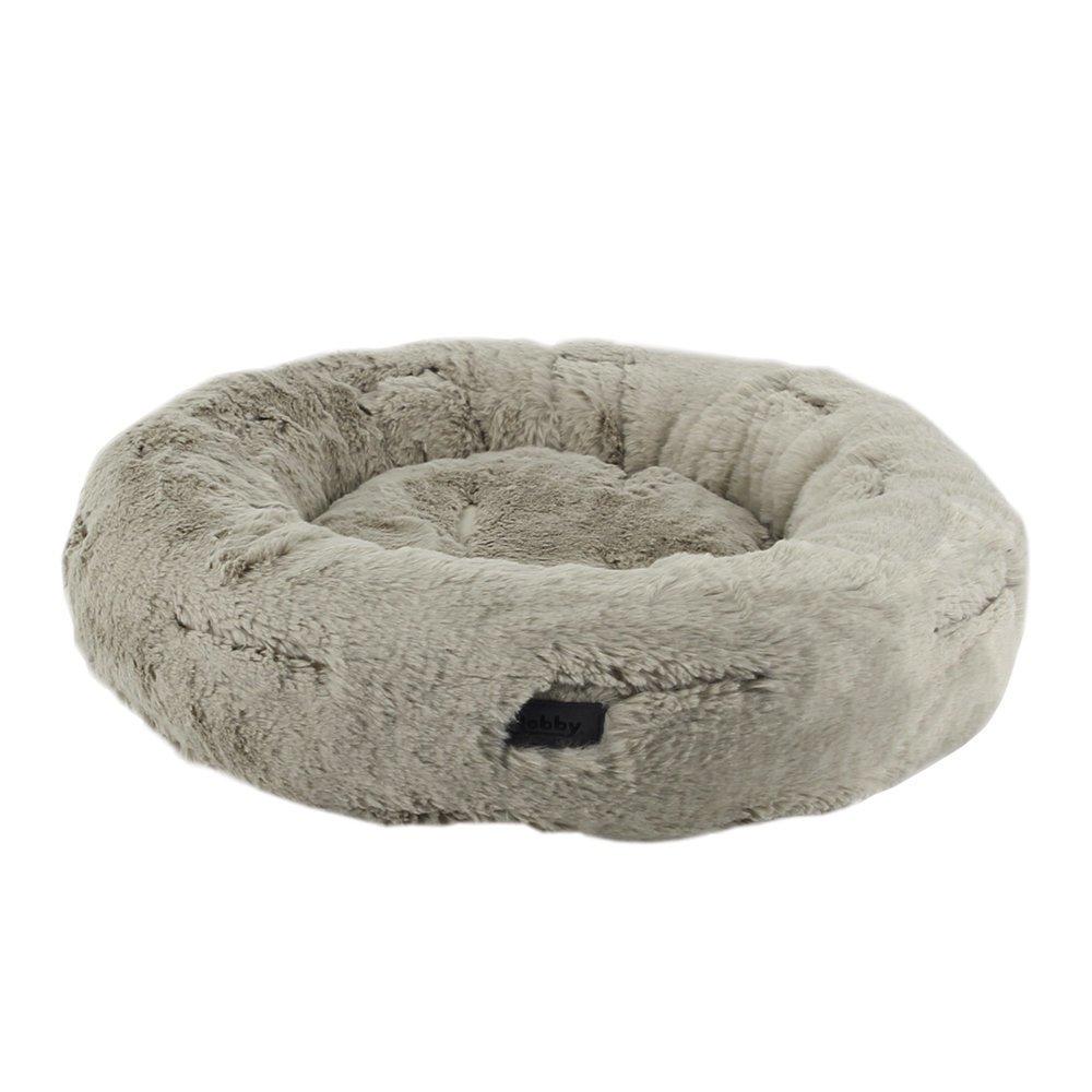 Nobby Hundebett Donut YONA, Ø 45 x 15 cm - beige