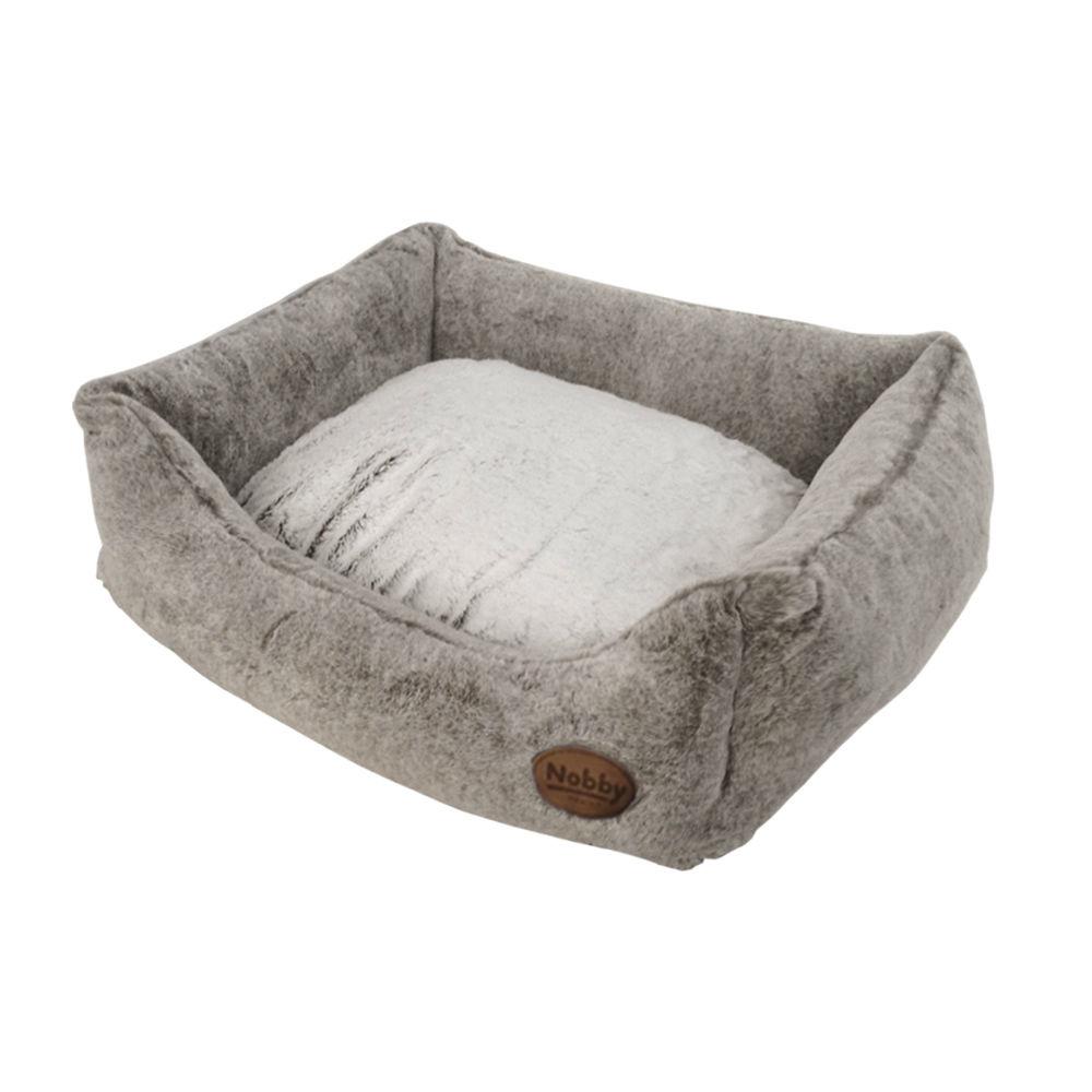 nobby hundebett katzenbett eckig cuddly von nobby g nstig. Black Bedroom Furniture Sets. Home Design Ideas