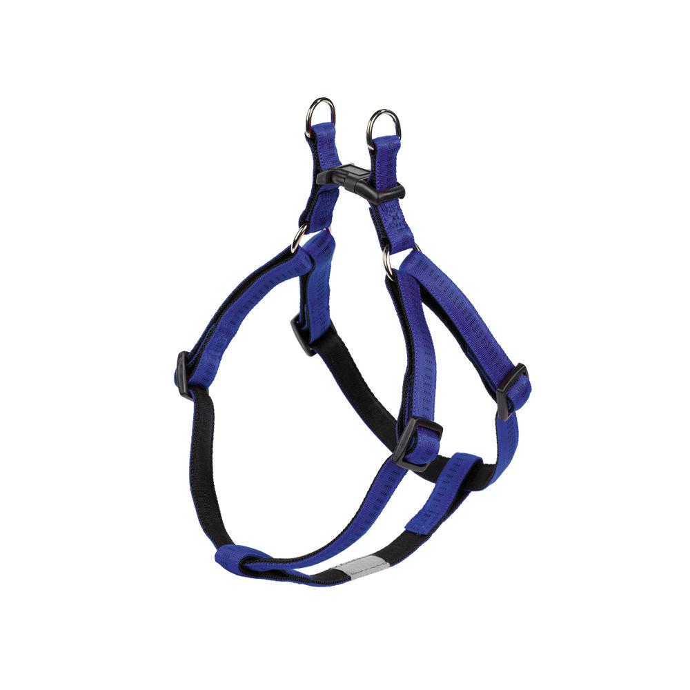 Nobby Hundegeschirr Soft Grip Nylon, Brust: 60/86 cm; B: 25 mm, blau