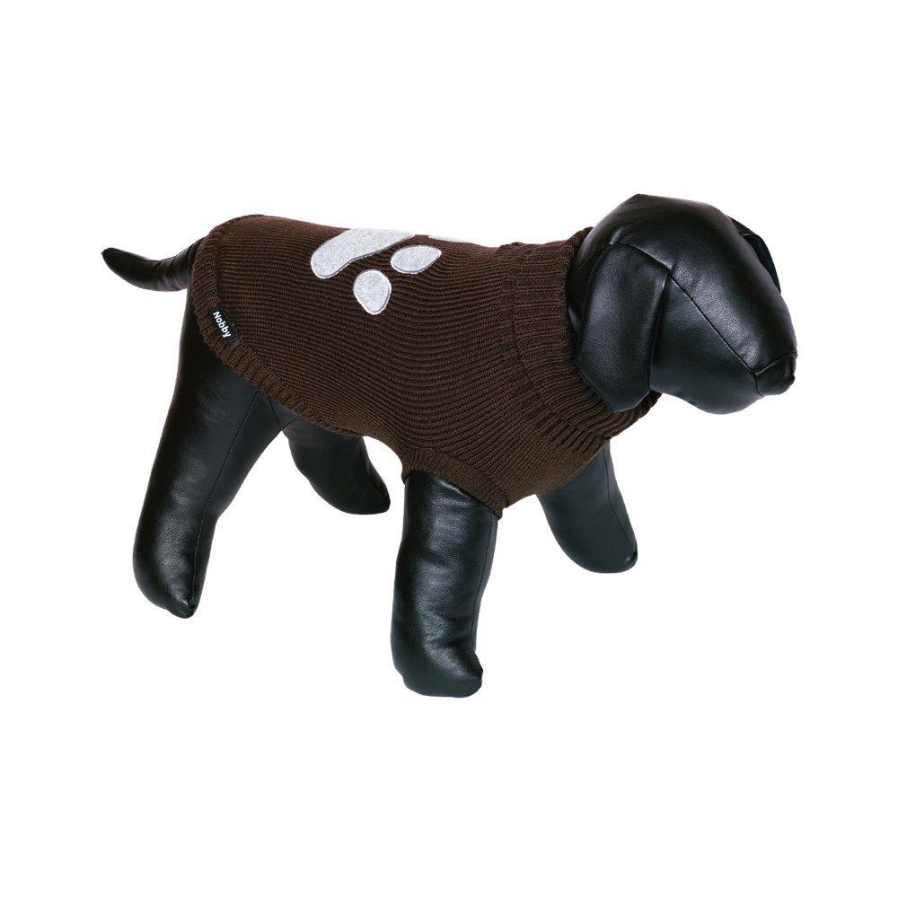 Nobby Hundepullover PATI, Rückenlänge 36 cm - braun