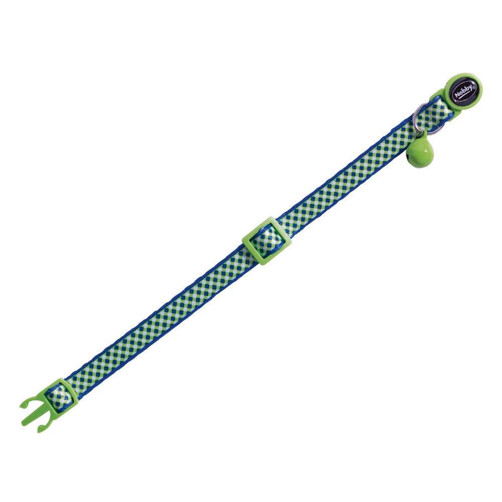Nobby Katzenhalsband mit Muster, Design Green - grün
