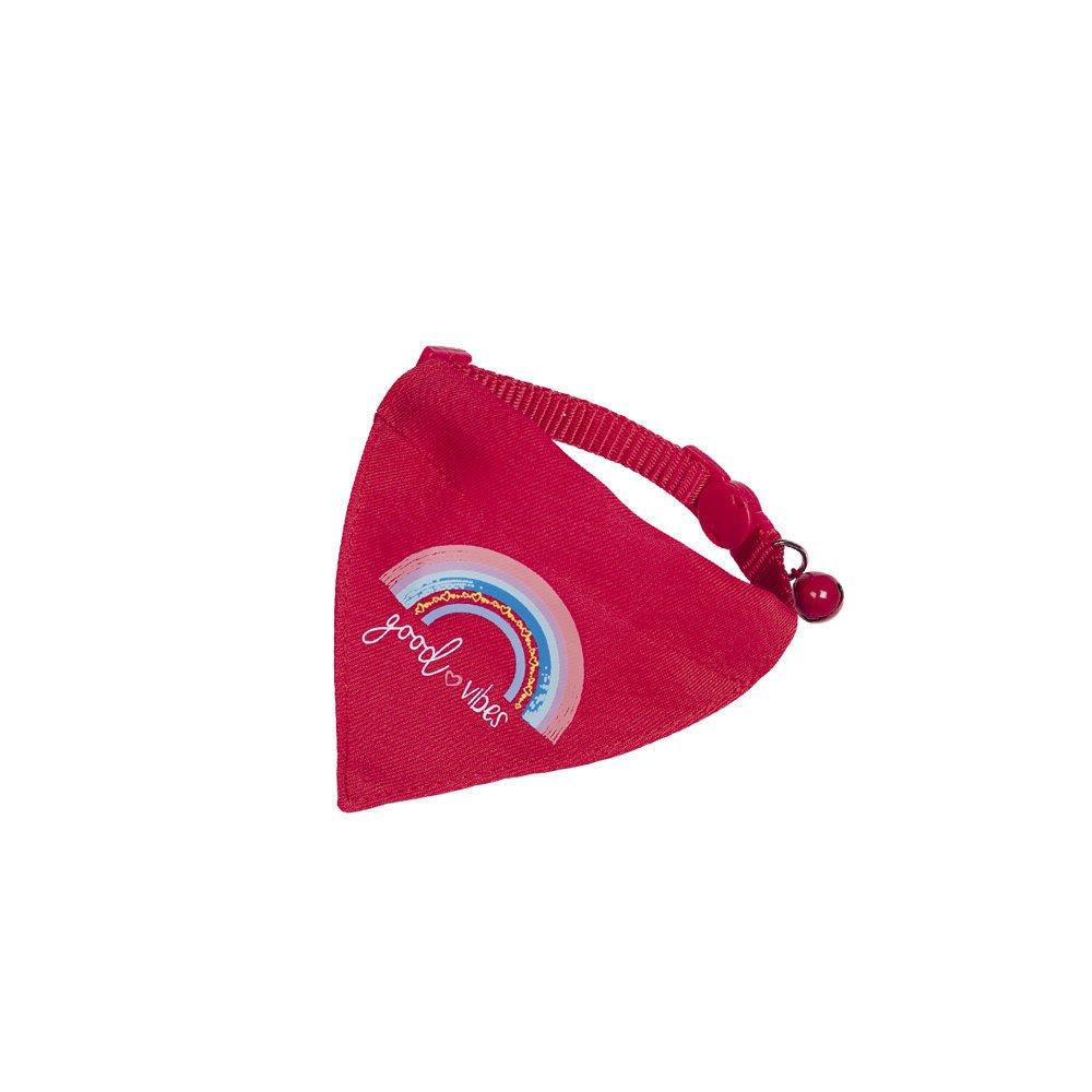 Nobby Katzenhalsband mit Tuch, rot