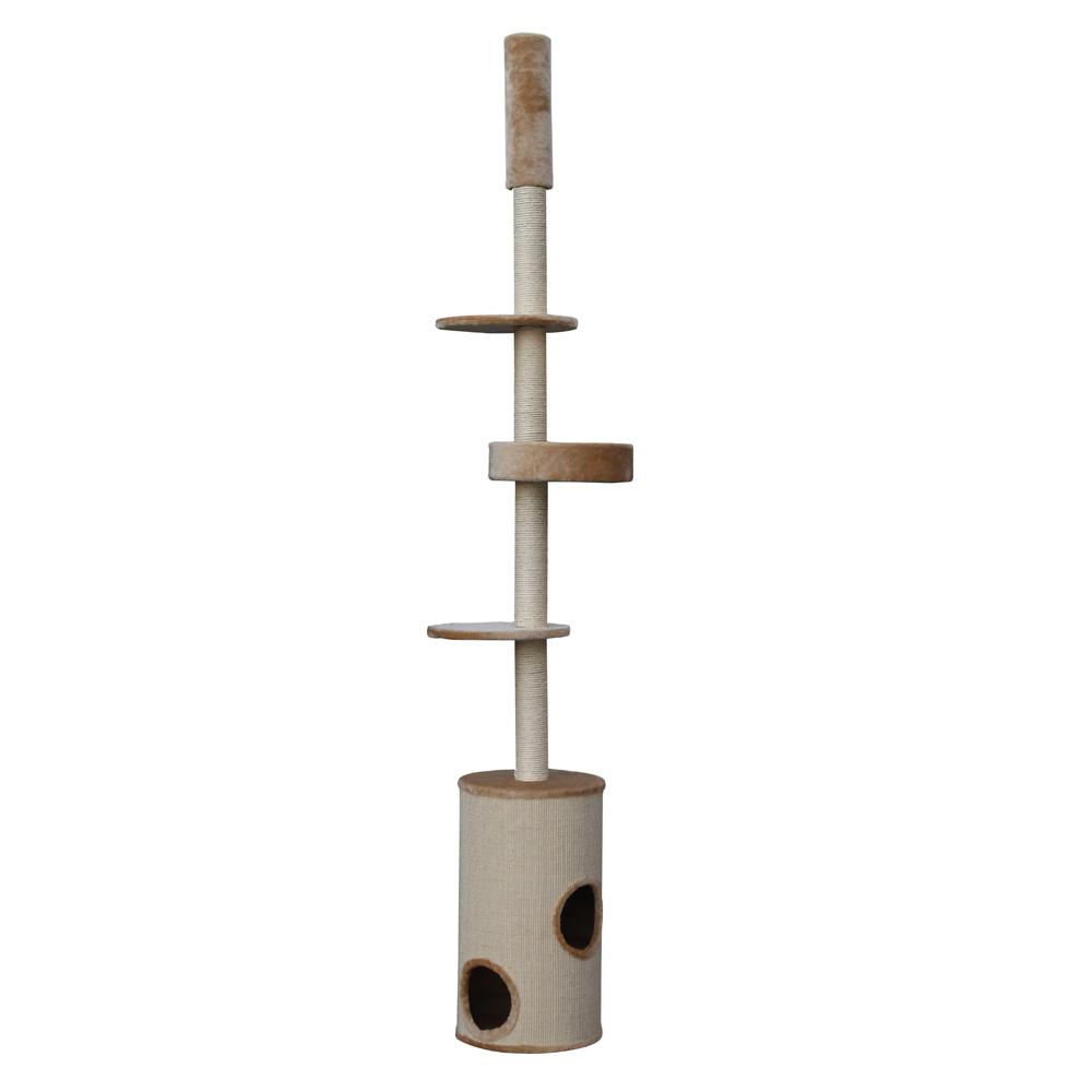 Nobby Kratzbaum CABO deckenhoch, 244-264 cm, beige