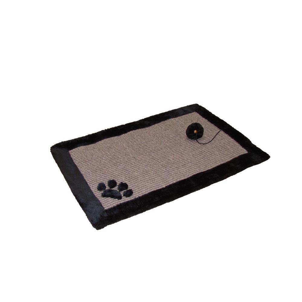 Nobby Kratzmatte für Katzen, 58 x 38 cm, schwarz