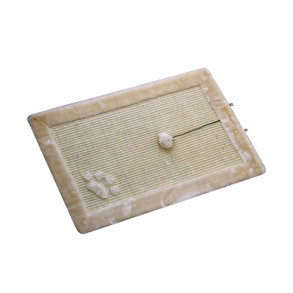 Nobby Kratzmatte für Katzen, 58 x 38 cm, beige