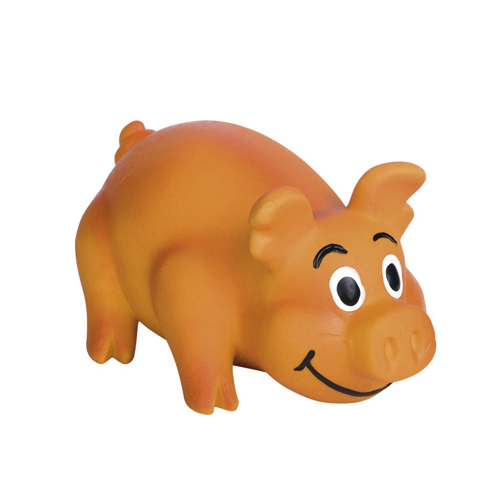 Nobby Latex Schwein, 11 cm - orange