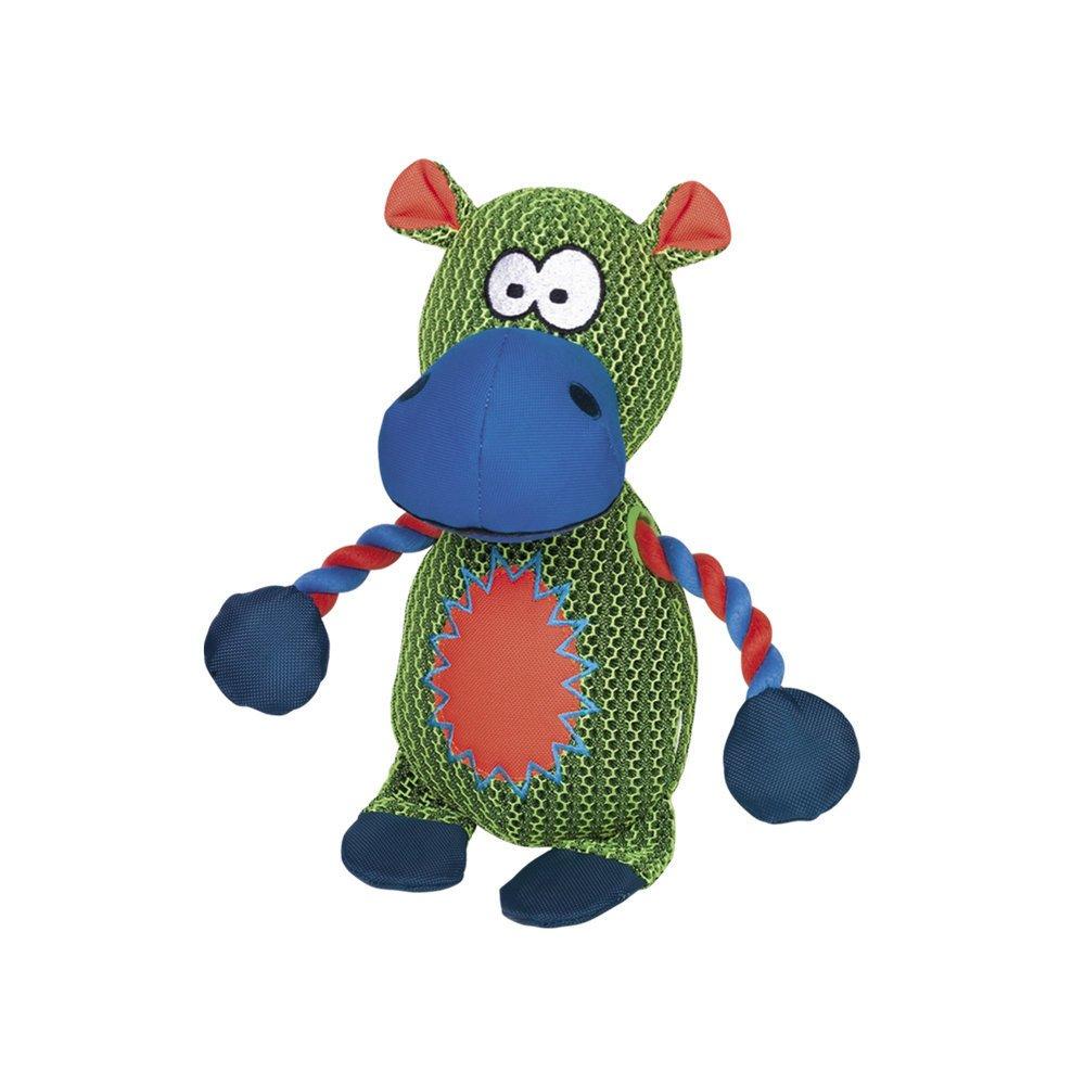 Nobby Mesh Nilfpferd und Krokodil, Nilpferd - 29 cm - grün
