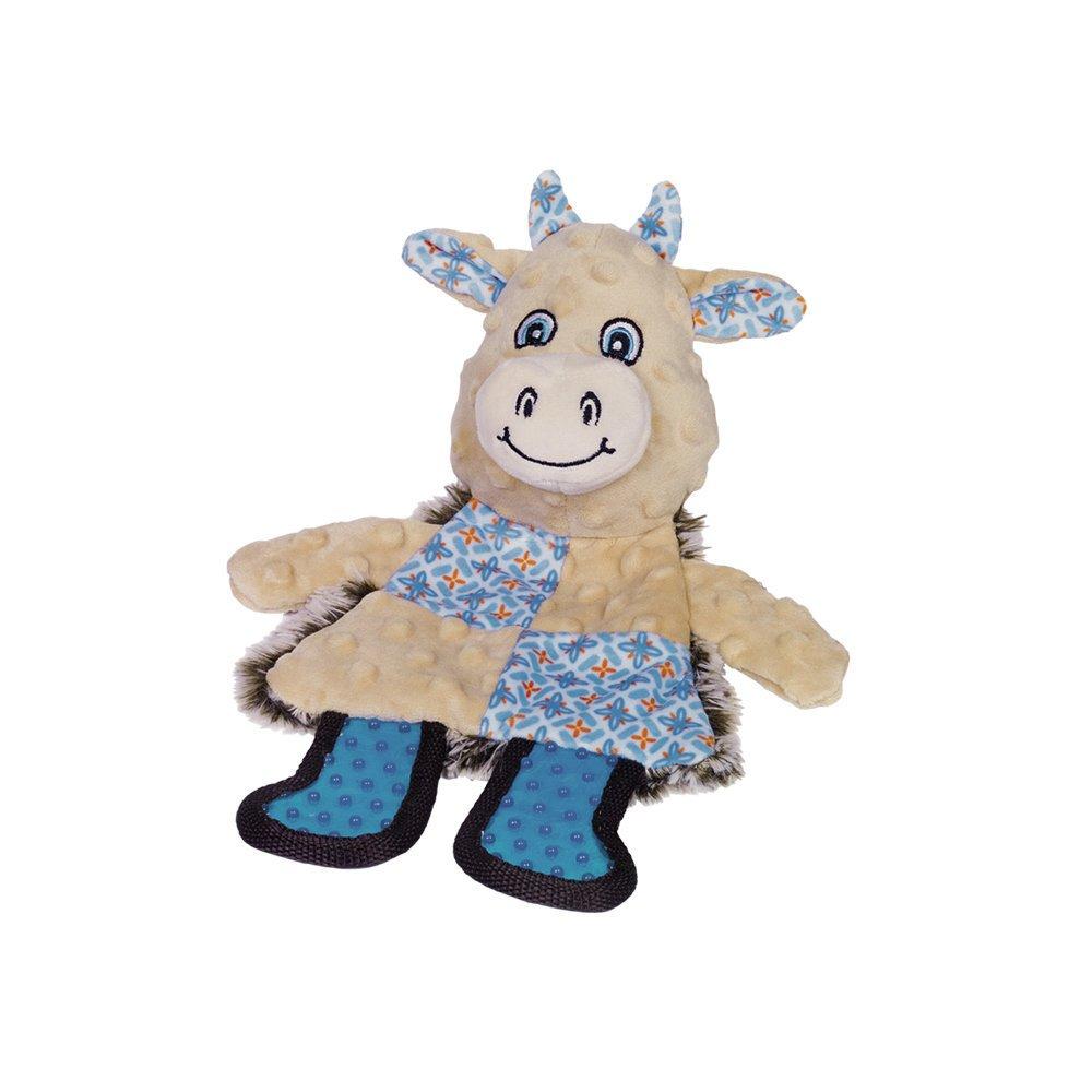 Nobby Plüsch Kuh und Löwe Patchwork, Kuh - 30 cm - bunt