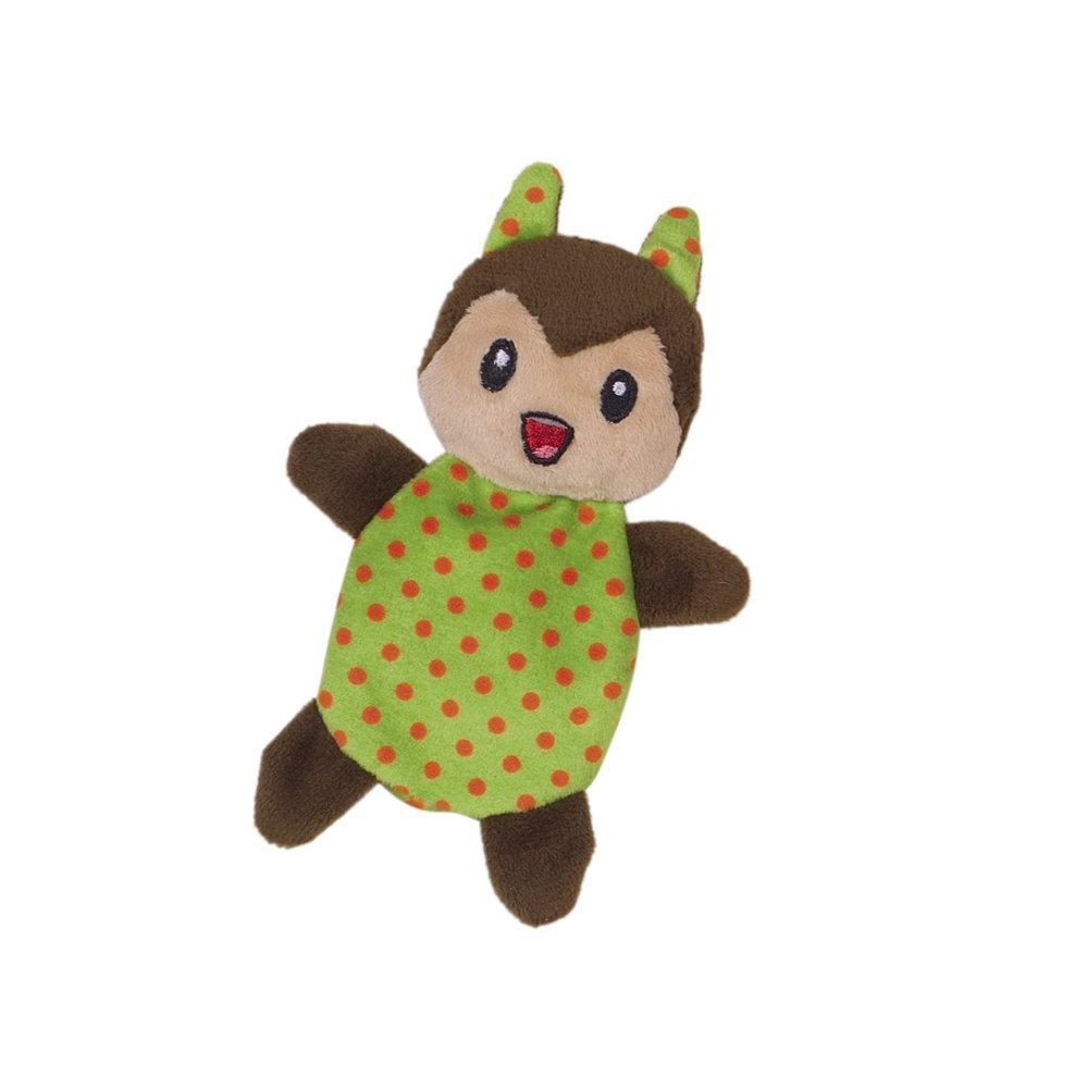 Nobby Plüschtier mit Katzenminze, Eichhörnchen - 14 cm - grün