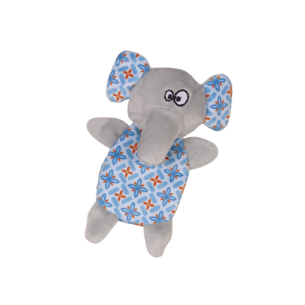 Nobby Plüschtier mit Katzenminze, Elefant - 14 cm - blau