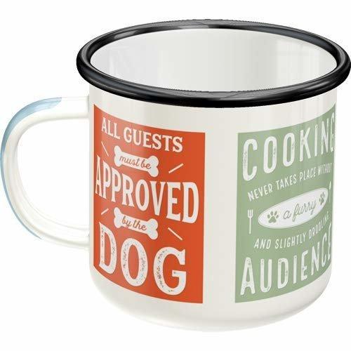 Nostalgic-Art Emaille-Becher Dog Rules, Bild 2