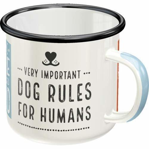 Nostalgic-Art Emaille-Becher Dog Rules, Bild 3