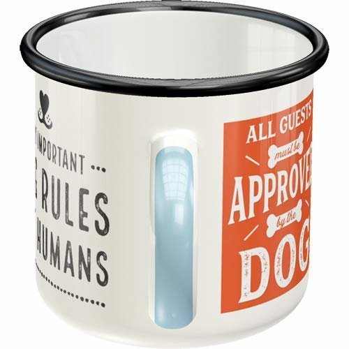 Nostalgic-Art Emaille-Becher Dog Rules, Bild 4