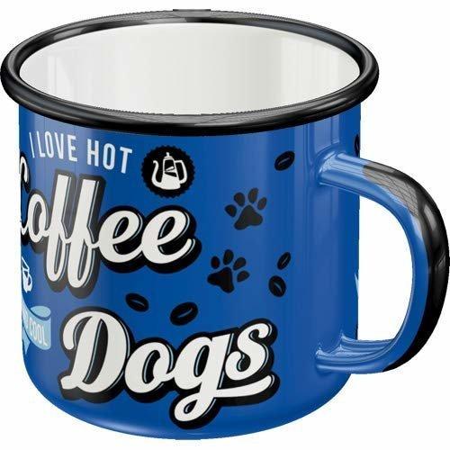 Nostalgic-Art Emaille-Becher Hot Coffee & Cool Dogs, Bild 4