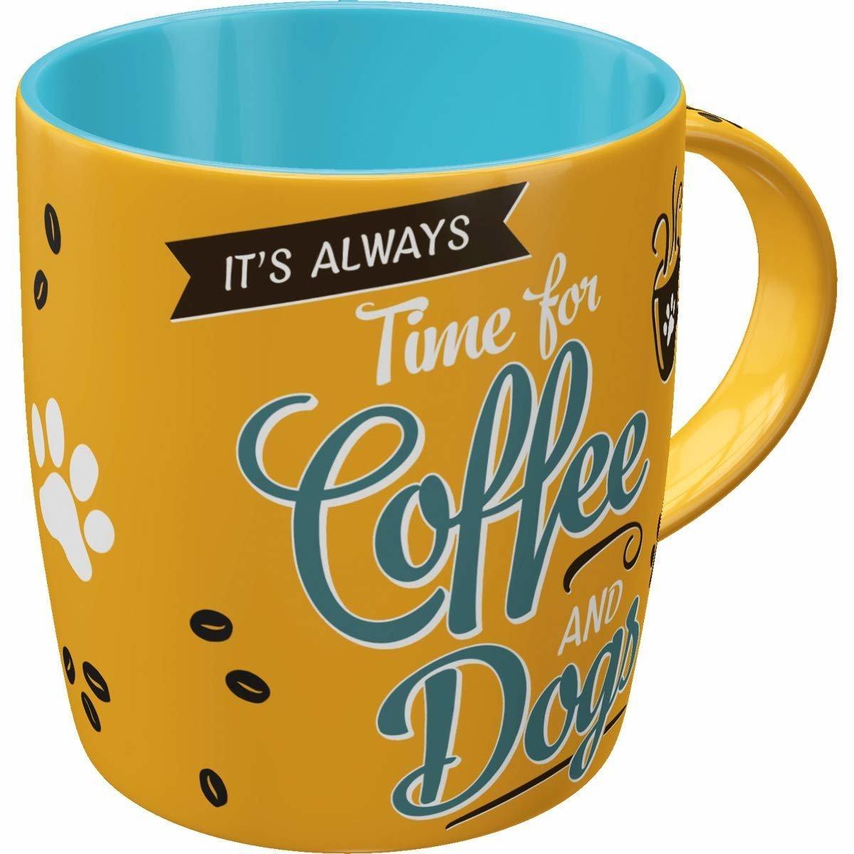 Nostalgic-Art Kaffebecher Coffee and Dogs, Bild 2