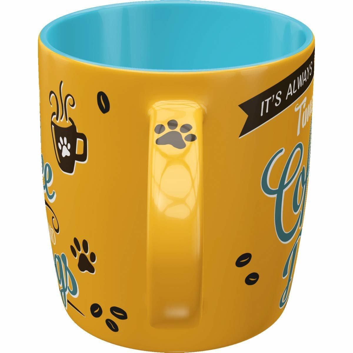 Nostalgic-Art Kaffebecher Coffee and Dogs, Bild 3