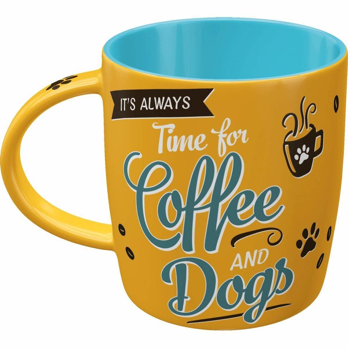 Nostalgic-Art Kaffebecher Coffee and Dogs, Bild 4