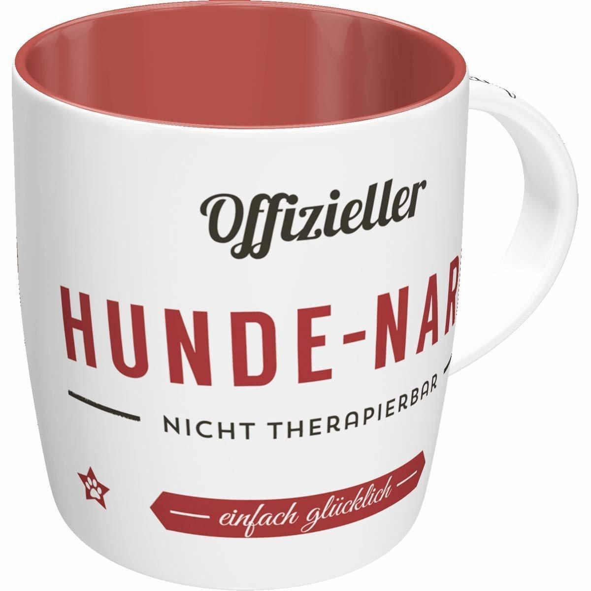 Nostalgic-Art Kaffee-Becher Hunde-Narr, 8,5 x 8,5 x 9 cm